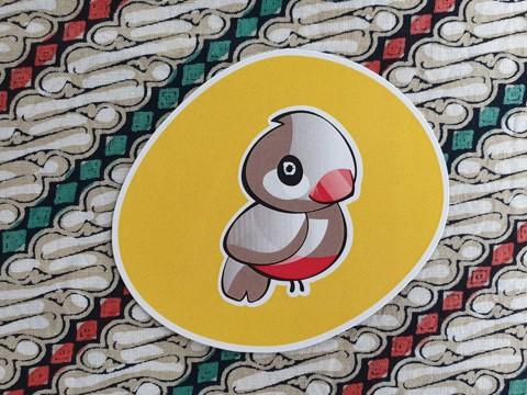 Leuke koelkastmagneet met het logo van Taman IndonesiaEen leuke koelkastmagneet met ons logo. Plak je koelkast maar lekker vol!